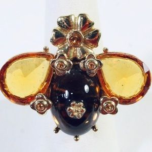 Kate Spade Rare Queen Bee Ring